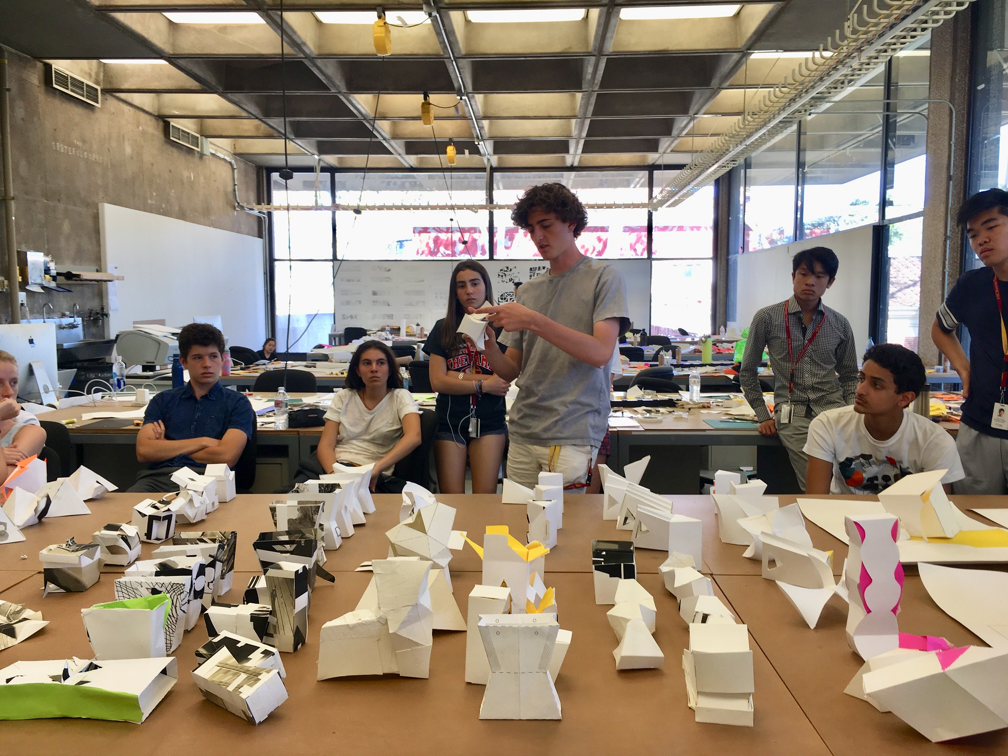 USC Summer Programs Exploration of Architecture Photo Album
