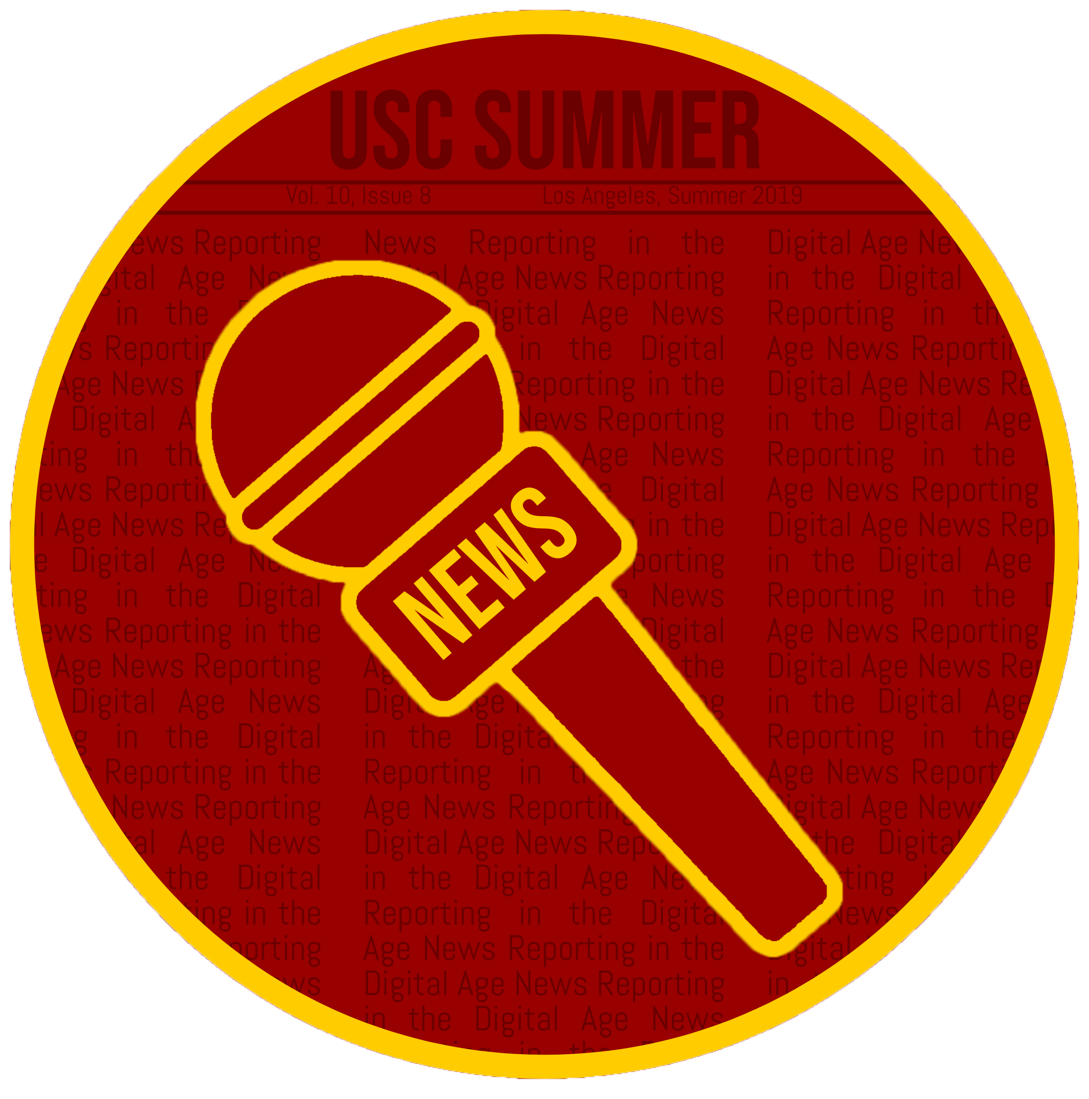 News Reporting in the Digital Age sticker