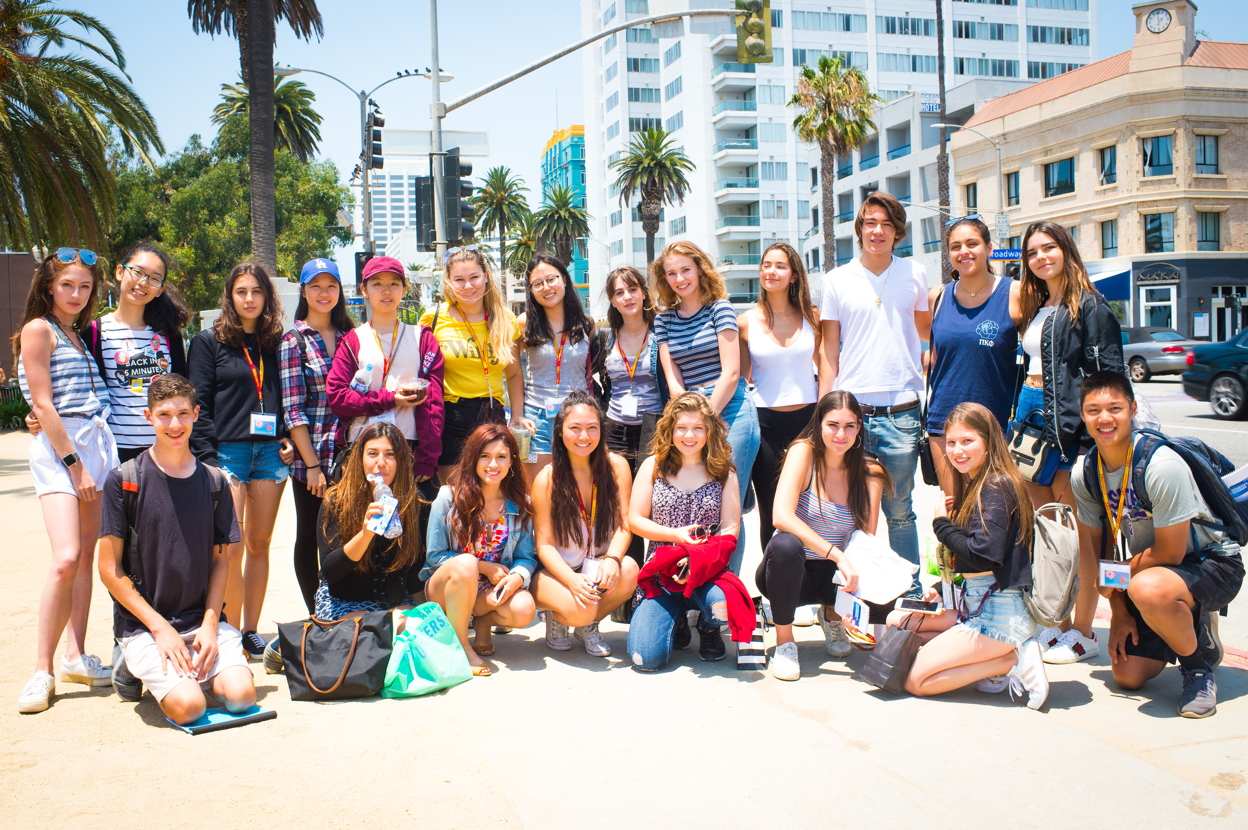 USC Summer Programs News Reporting in the Digital Age Photo Album